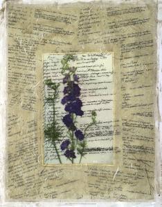 Wildflower Prose II by Jennifer Goldberger