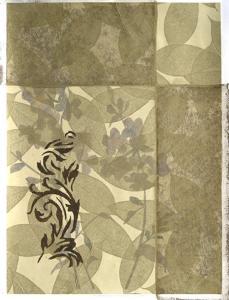 Wildflowers and Filigree I by Jennifer Goldberger