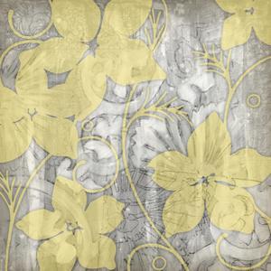 Yellow & Gray I by Jennifer Goldberger