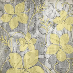 Yellow & Gray II by Jennifer Goldberger