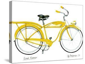 Yellow Roadrunner by Jennifer Goldberger