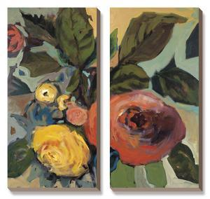Rose Garden I by Jennifer Harwood