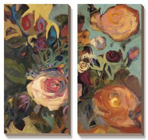 Rose Garden II by Jennifer Harwood
