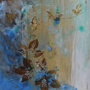Jewelled Leaves XVII by Jennifer Hollack
