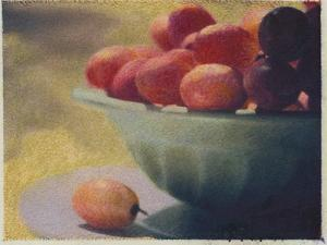 Bowl of Grapes by Jennifer Kennard