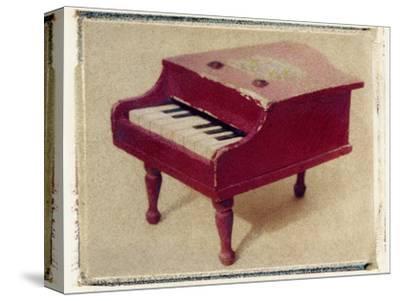Red Piano by Jennifer Kennard