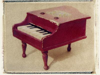 Red Piano by Jennifer Kennard by Jennifer Kennard
