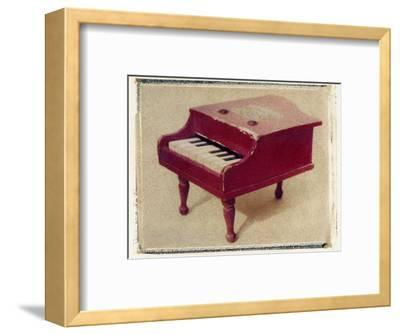 Red Piano by Jennifer Kennard