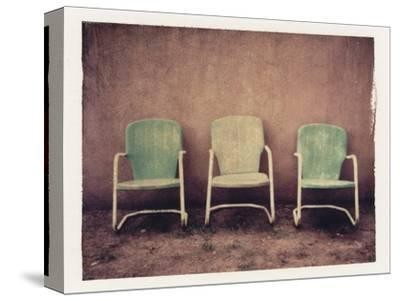 Three Turquoise Chairs