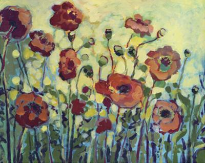 Anita's Poppies by Jennifer Lommers