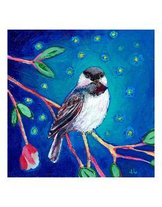Chickadee at Night by Jennifer Lommers