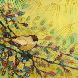 Goldfinch Resting by Jennifer Lommers