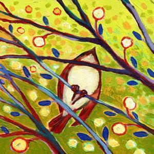 Modern Bird VI by Jennifer Lommers