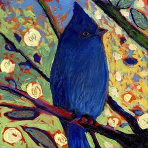 Modern Bird X by Jennifer Lommers