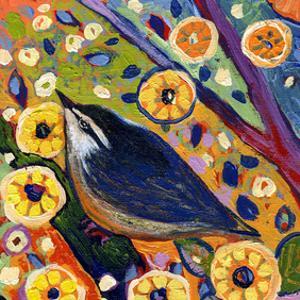 Modern Bird XI by Jennifer Lommers