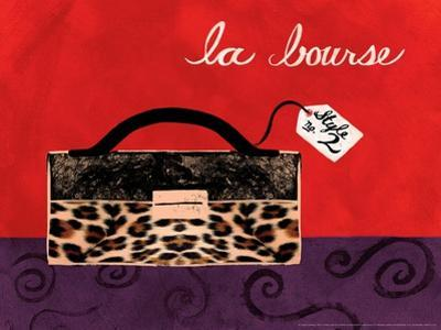 Leopard Handbag I by Jennifer Matla