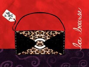 Leopard Handbag II by Jennifer Matla