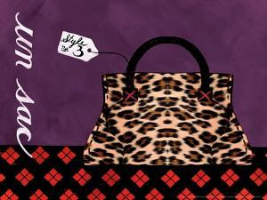 Leopard Handbag III by Jennifer Matla