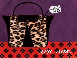 Leopard Handbag IV by Jennifer Matla