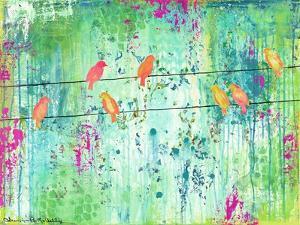 Birds on a Wire by Jennifer McCully