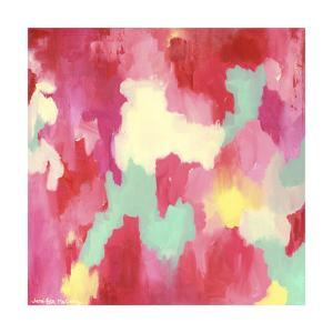 Candy Clouds - Abstract by Jennifer McCully