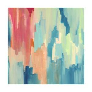 Color Theory Abstract by Jennifer McCully
