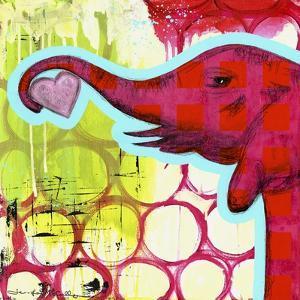 Hot Pink Elephant by Jennifer McCully