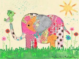Mosaic Elephant by Jennifer McCully