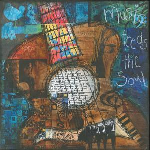 Music Feeds the Soul - Guitar by Jennifer McCully