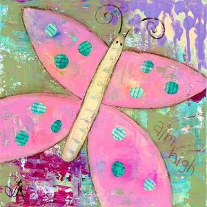 Pink Butterfly by Jennifer McCully