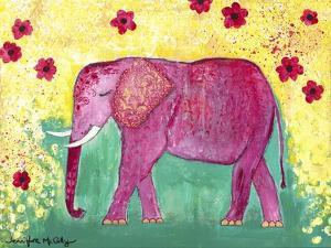 Pink Elephant by Jennifer McCully