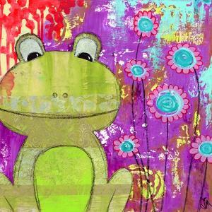 Whimsical Frog by Jennifer McCully