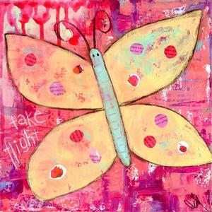 Yellow Butterfly by Jennifer McCully