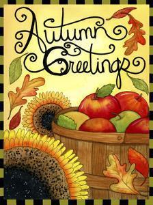 Autumn Apple Basket by Jennifer Nilsson