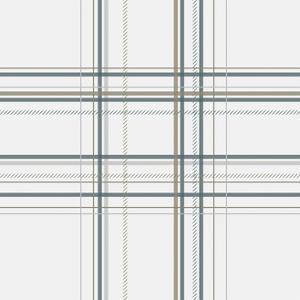 Dashed Line Pale Gray by Jennifer Nilsson