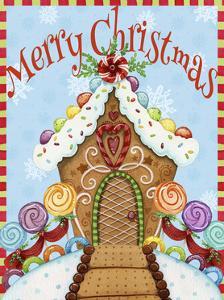 Gingerbread House Christmas by Jennifer Nilsson