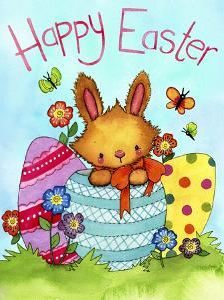 Happy Easter Bunny by Jennifer Nilsson