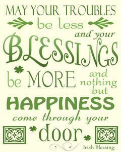 Irish Blessing by Jennifer Nilsson
