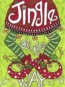 Jingle All the Way Elf by Jennifer Nilsson