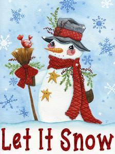 Let It Snow Snowman by Jennifer Nilsson