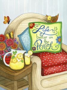 Life on the Porch by Jennifer Nilsson