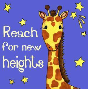 New Heights Giraffe by Jennifer Nilsson