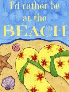 Rather Be at the Beach by Jennifer Nilsson
