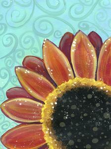 Sunflower Swirl by Jennifer Nilsson