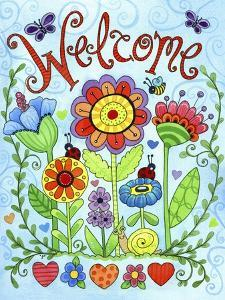 Whimsical Flower Welcome by Jennifer Nilsson