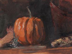 Autumn Still Life I by Jennifer Parker