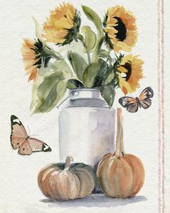 Autumn Sunflowers II by Jennifer Parker