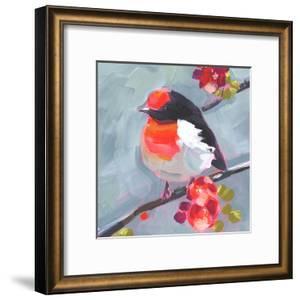 Brushstroke Bird I by Jennifer Parker