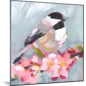 Brushstroke Bird II by Jennifer Parker
