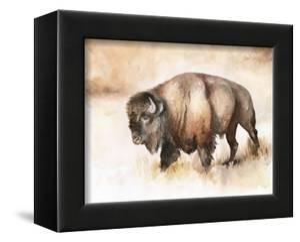 Buffalo Roam I by Jennifer Parker